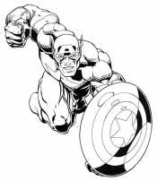 В бой Капитан Америка