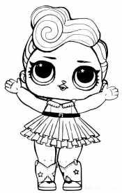 Кукла Лол с челкой