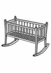 Кровать для младенца