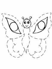 Бабочка по точкам