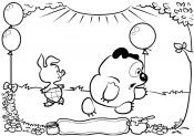 Винни Пух и Пятачок
