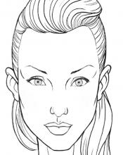Лицо для макияжа