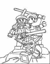 Лего Звездные войны в бою