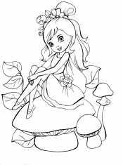 Принцесса на грибах