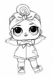 Кукла Лол в повязке