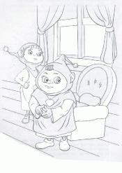 Герои мультфильма Джинглики