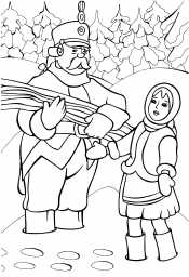 Падчерица и солдат