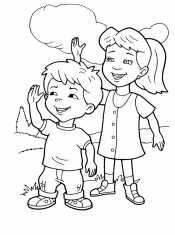 Девочка и мальчик