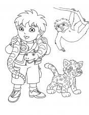 Диего и животные
