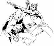 Росомаха и Бетмен