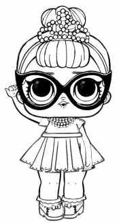 Кукла Лол в очках