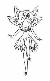 Фея с крыльями