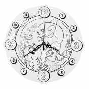 Часы морские обитатели
