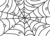Паучки на паутине
