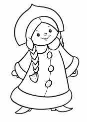 Маленькая снегурочка