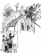 Дядя Степа и пожар
