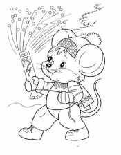 Хлопушка у мышонка