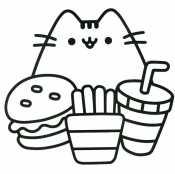 Кавайный кот