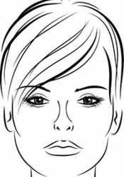 Лицо для профессионального макияжа