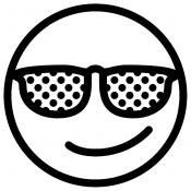 Смайлик в очках
