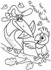 Кеша и Ворона