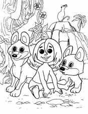 Маугли и волчата