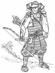 Сильный самурай