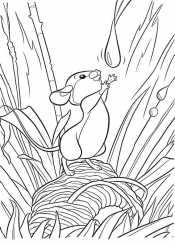 Мышонок Пик и капля воды