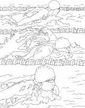 Рисунок плавание