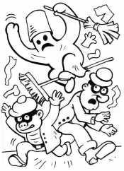 Приведение и бандиты