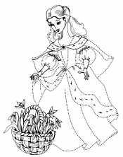 Королева с подснежниками