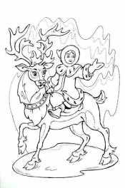 Герда и олень