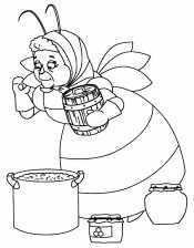 Бабушка Капа готовит