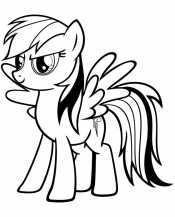 Пони Рейнбоу Дэш