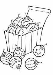 Шары новогодние в коробочке