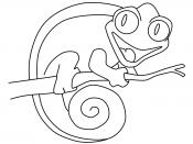 Веселый хамелеон