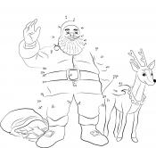 Санта Клаус по цифрам
