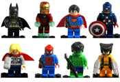 Раскраски Лего Марвел