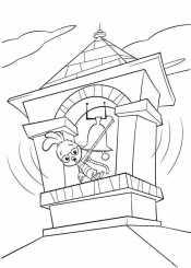 Цыпа бьет в колокол