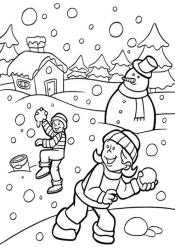 Игры зимой