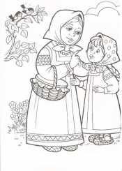 Мама и дочка из сказки