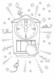 Новогодние часы - ходики