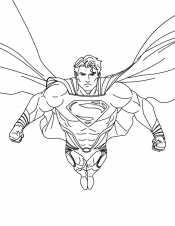 Рисунок Супермен