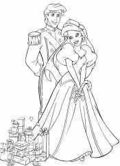 Принцесса Ариэль и Эрик