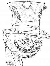 Чеширский кот из фильма
