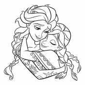 Принцессы Эльза и Анна