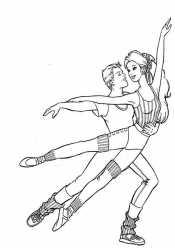 Кен и Барби гимнасты