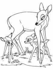 Фэлин и оленята
