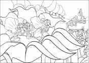 Дюймовочки в цветах