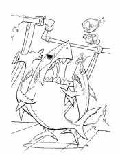 Марлин, Дори и акулы